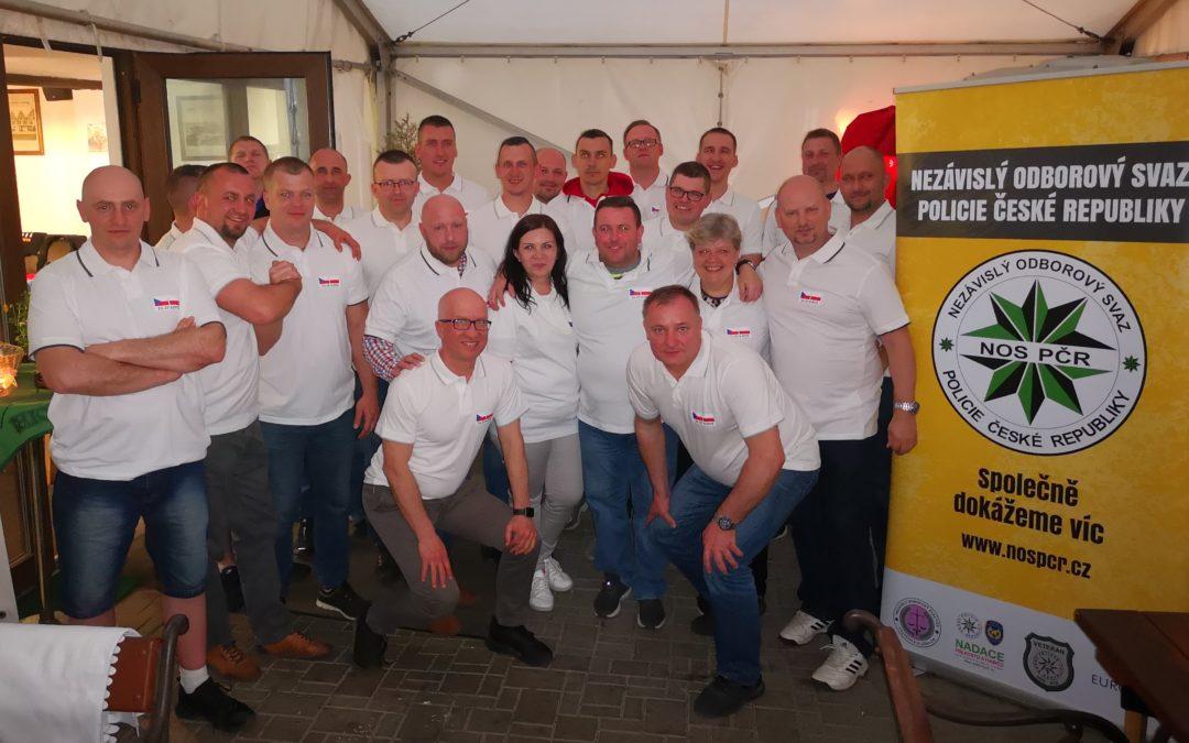 Związkowcy z Zakładu Karnego w Iławie z wizytą u kolegów w Republice Czeskiej
