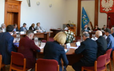 VI Sesja Rady Powiatu Iławskiego, w czwartek 23 maja. Tego dnia także posiedzenie Komisji