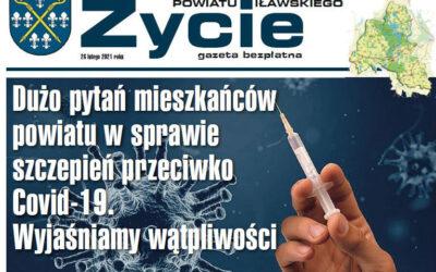 """Najnowsze wydanie """"Życia Powiatu Iławskiego"""" już dostępne online i w papierowej wersji"""