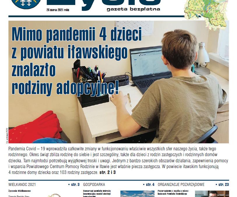 Marcowe Życie Powiatu Iławskiego już dostępne w wersji on-line i papierowej