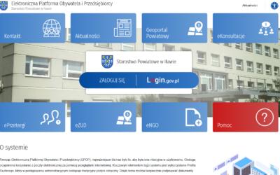 Powiat Iławski uruchomił właśnie nową e-usługę. Sprawy urzędowe są do załatwienia w 24h/7 dni, bez wychodzenia z domu