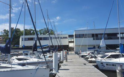 Port Śródlądowy w Iławie w pełni gotowy do sezonu żeglarskiego