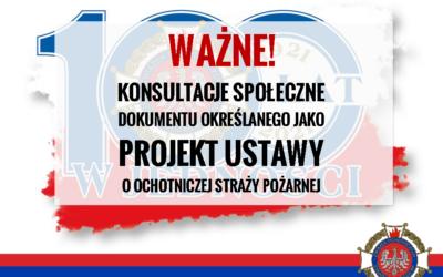 Komunikat prasowy Związku Ochotniczych Straży Pożarnych Rzeczypospolitej Polskiej
