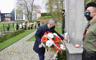 Uroczystości Narodowego Dnia Zwycięstwa z udziałem Starosty Powiatu Iławskiego