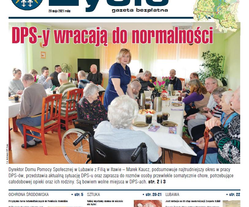 Najnowsze wydanie miesięcznika Życia Powiatu Iławskiego