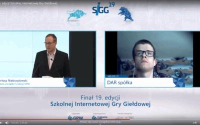 Uczniowie Zespołu Szkół w Lubawie wśród finalistów XIX edycji Szkolnej Internetowej Gry Giełdowej
