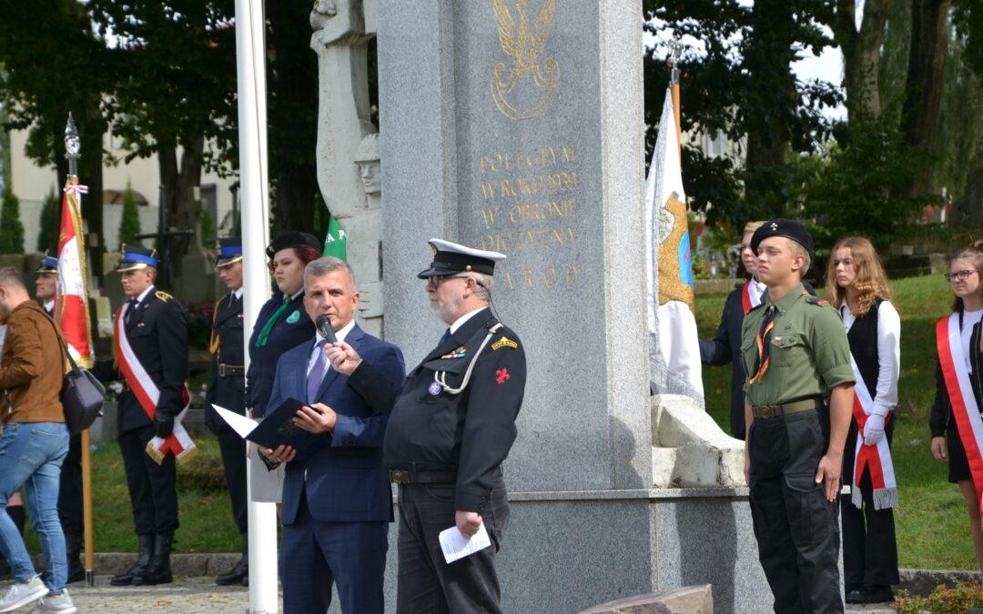 82. rocznica wybuchu II wojny światowej. Uczczono pamięć tych, którzy walczyli i oddawali życie za Polskę