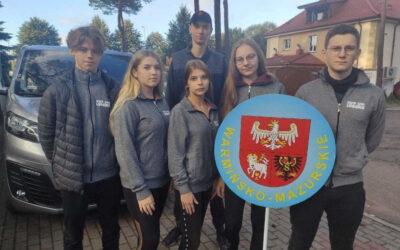 Uczniowie Zespołu Szkół w Lubawie wzięli udział w zawodach sportowo-obronnych